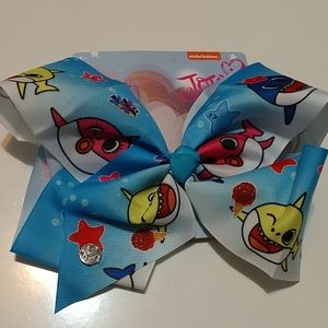 JoJo Siwa x Baby Shark Summer Hair Bow NWT